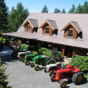 tractors-house